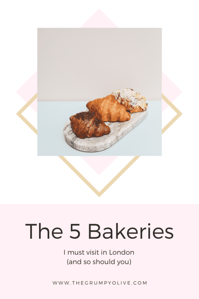 The 5 Bakeries I must visit in London