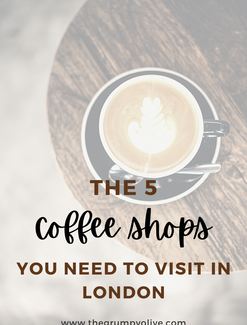 5 coffee shops to visit in london
